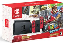 Nintendo Switch Super Mario Odyssey Edition